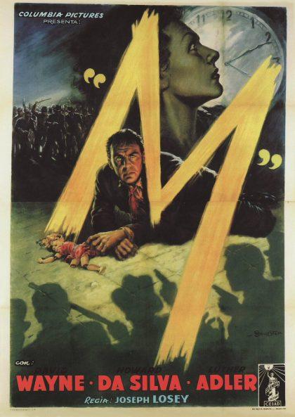 Cinéma du GRHS – Projection du film « M » de Joseph Losey, 1951